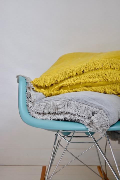 Plaids, couvertures, édredons